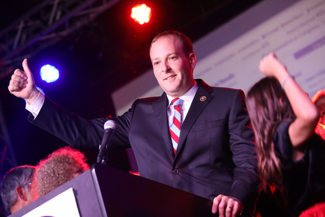 Congressman Lee Zeldin defeats Anna Throne-Holst