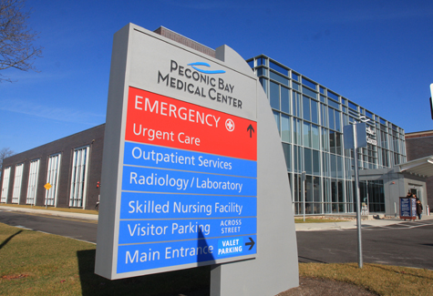 NEWS-REVIEW FILE PHOTO | Peconic Bay Medical Center had a strong showing in the Consumer Reports study on patient safety that was released this week.