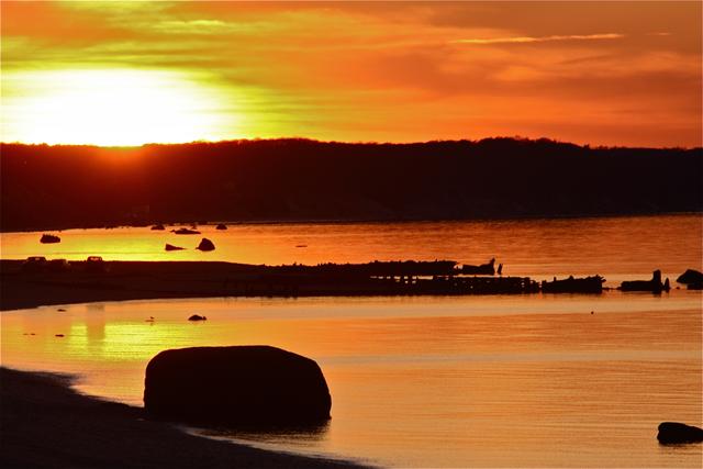 Reeves Beach sunset