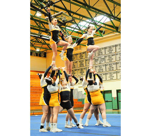 Shoreham-Wading River cheerleading 022517