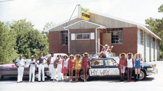 Hy-Way 24 restaurant, which opened in 1973 on Flanders Road, is now the site of the Mexican eatery El Mariachi. (Credit: David Peter Fitzgerald)