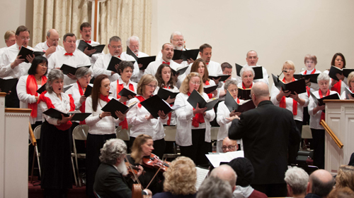 Harry Kahnhauser Courtesy Photo | The North Shore Chamber Choir at a recent performance.